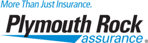 Plymouth Rock Insurance logo and link to get a quote